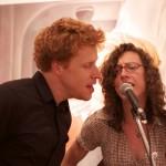 Sarah Greene and Ben Veneer